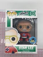 Funko POP! Stan Lee #03 SUPERHERO RED Comikaze Exclusive Vaulted Rare F04