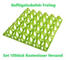 Eierhorden aus Kunststoff  Set 10Stück  Kostenloser Versand