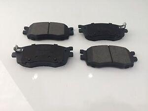Front Brake Pads Fits DB1787 Kia Rio 1.6 CVVT (JB) 2005 - 2012