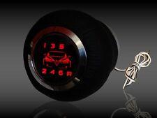 ALFA   Pomello di cambio in pelle retroilluminato  159  - 6 speed  led red