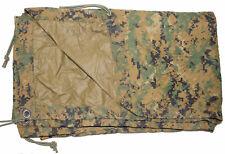USMC Military REVERSIBLE FIELD TARP Tarpaulin MARPAT Coyote 90x80 ACC