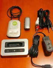 Phonak TVLink S with Phonak ComPilot II + Audio Cables + Remote Mic