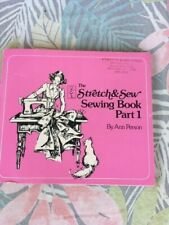 New listing Vintage Book (1976); The Stretch and Sew Sewing Book by Ann Parsons; Soft Back