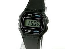 Reloj pulsera hombre CASIO LITHIUM F-30 Vintage Original modulo 1007 nuevo