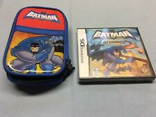 Batman: The Brave and the Bold - The Videogame With DS Carry Case
