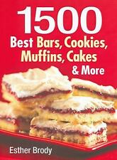 1500 Best Bars, Cookies, Muffins, Cakes, and More, Brody, Esther, 0778801942, Bo