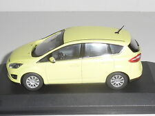 MINICHAMPS / PAULS MODEL ART, FORD  C-MAX,  IN YELLOW , 1:43 SCALE.