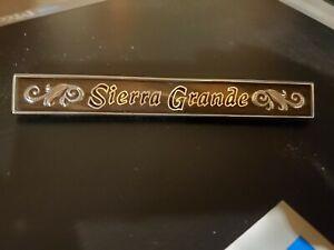 1971- GMC SIERRA GRANDE GLOVEBOX EMBLEM