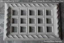 Large Plaster Air Vent Cover Victorian 380mm X 255mm (with insect mesh)