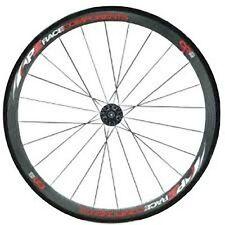 PZ Racing CR2.1W Tubular Campy Bike Wheel Set(F&R), Carbon Matt Black