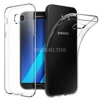 Clear Silicone Slim Gel Case Screen Protector for Samsung Galaxy A5 2017