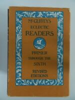 MCGuffey's Eclectic Reader Primer Through the Sixth Revised 7 Vol. w/Slipcase