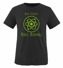 Comedy Shirts Eat. Sleep. big bang Kids Camiseta