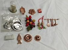 Assortment of Vintage Dollhouse Accessories- Household items-
