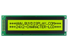 5V 24x2 Character LCD Module Display Module,w/Tutorial,HD44780 Controller,Bezel