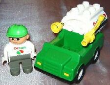LEGO DUPLO auto caprilico 3091 Big GAS TRUCK autocisterna Top Set stazione di servizio CAMION