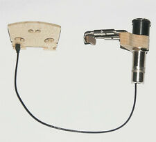 Tonabnehmer für Geige, Violine, pickup, transducer for violin with jack clamp