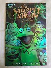 The Muppet Show 1 Boom Disney SDCC Green Holofoil Variant 500 NM+