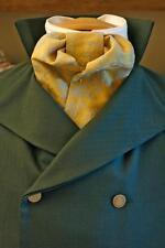 Mens Late Victorian, Wedding, Sherlock Holmes Cravat Making Paper Sewing Pattern