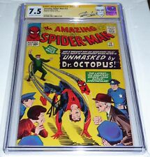 Amazing Spider-Man #12 CGC Signature Autograph STAN LEE 3rd Doctor Octopus App.