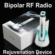 Portable Bipolar RF Radio Frequency Face Wrinkle Acne Removal Skin Rejuvenation