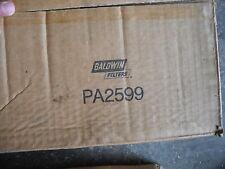 BALDWIN FILTERS PA2599 Air Filter, 12-1/32 x 8 in.