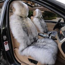 Genuine Australian Pair Sheepskin Fur Car 2 Front Seat Covers Set Universal M13H