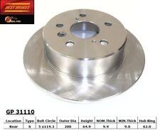 Disc Brake Rotor fits 1993-2003 Toyota Camry Highlander  BEST BRAKES USA
