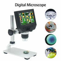 """600X 4.3"""" LCD 3.6MP Electronic Digital Video Microscope for Mobile Phone Repair"""