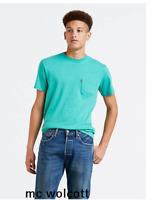 NWT Levi's Sunset Pocket Tee Shirt Reguler-29.50