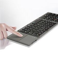 X-Folding Touch Pro Folding Bluetooth 3.0 Keyboard Korean/English Layout