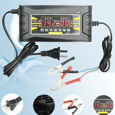 12V 6A Inteligente 12-1000Ah Caricabatterie Batteria LCD Display FOR Auto Moto