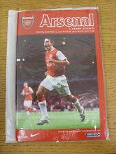 22/09/2007 Arsenal v Derby County  (Excellent Condition)
