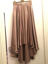 Womens Trumpet Skirt Sized 14 New Ladies Black Panelled with Free Patent Belt