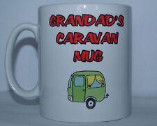 Grandad's caravane imprimé mug nouveauté cadeau des fêtes-caravane camping