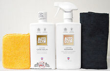 AutoGlym Leather Cleaner & Leather Care Balm Combo Care Pack with Free Edgeless