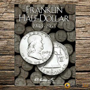 Franklin Half Dollar 1948-1963  Folder #2695
