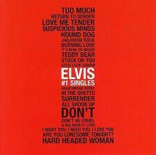 ELVIS PRESLEY THE #1 SINGLES! COMPLETE 20-BLACK-CDS/BOOK/POSTER/NUMBERED BOX SET