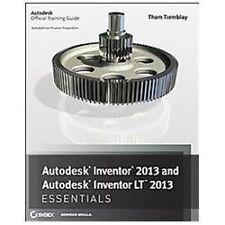 Autodesk Inventor 2013 and Autodesk Inventor LT 2013 Essentials - LikeNew - Trem
