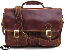 new Floto Procida Messenger Bag in Brown Italian Calfskin Leather (7611BROWN)