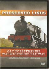 PRESERVED LINES GLOUCESTERSHIRE WARWICKSHIRE RAILWAY DVD A NOSTALGIC LOOK