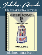 SUPER RARE! AMI Singing Towers Jukebox Service, Parts & Troubleshooting Manual
