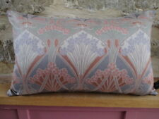 Liberty William Morris Ianthe Arts Sateen & Grey Velvet Fabric Cushion Cover Ob