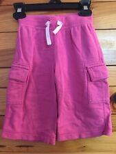 Hanna Andersson Shorts Pink Drawstring Waist EUC Boys Size 100 4 4T