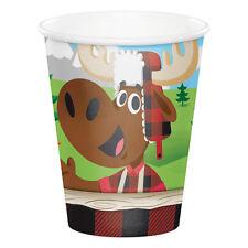 Lumberjack Moose Birthday Party Supplies Cup