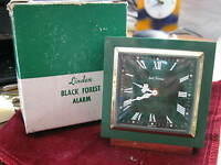 1950s SETH THOMAS GERMANY GREEN PLASTIC BAKELITE Alarm, Linden Black Forest Box?