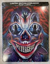 Poltergeist (2015, Blu-Ray+Digital, Limited Edition) Steelbook-Brand New Sealed.