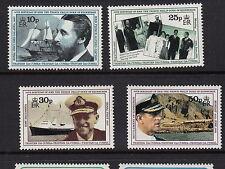 TRISTAN DA CUNHA:1991 70th Birthday of Prince Philip set SG 514-7  unm mint