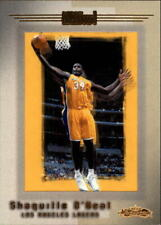 2001-02 Fleer Showcase Los Angeles Lakers Basketball Card #91 Shaquille O'Neal