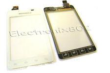 Motorola MotoSmart XT390 Touch Screen Digitizer Pad Panel Front Lens White UK